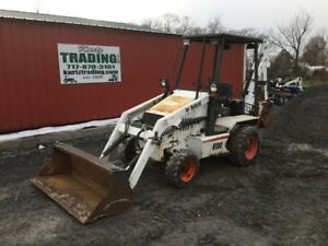 2004 Bobcat B100 2wd Diesel Compact Tractor Loader Backhoe Coming Soon