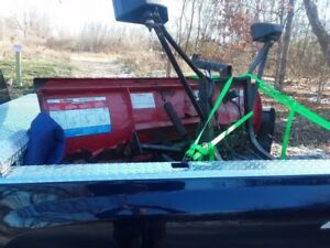 Used Western Unimount Snow Plow Setup 650 Or Trade For 98 Ford Hiniker Mount
