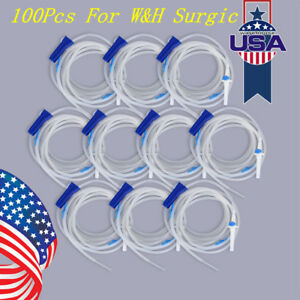 100x Dental Disposable Implant Irrigation Tube Hose 273cm