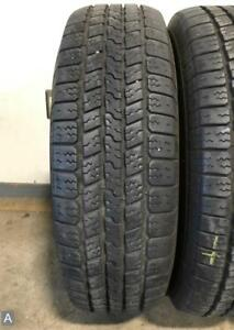 2x P265 70r17 Goodyear Wrangler Sr A 9 32nds Used Tires