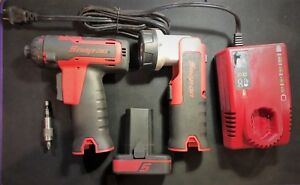 Snap On Cts761owb 14 4v 1 4 Hex Cordless Screwdriver Charger 1 battery