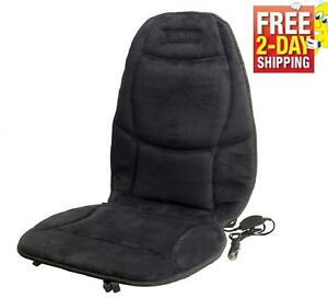 Heated Car Seat Cushion 12v Warmer Cover Pad Winter Back Heat Office Auto Truck