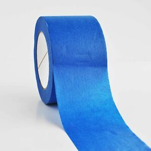 3 Inch X 60 Yards Blue Painters Masking Tape 5 6 Mil 64 Rolls Free Shipping