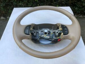 Ford 97 Thru 03 Leather tan steering Wheel F 150 F 250 F 350 Expeditions Exc