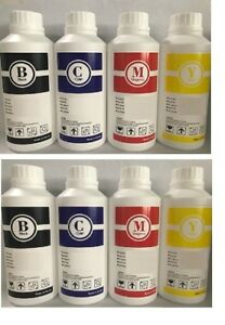 8 Eco Solvent Ink Refill For Epson Roland Mutoh Mimaki Printers 8000 Ml C y m k