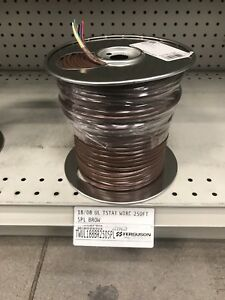 250 Foot Roll Thermostat Wire 18 8 Genesis Tw 18 8