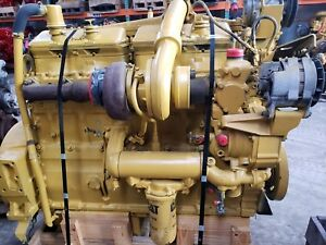 1988 Cat 3406b Diesel Engine 425hp Used Tested And Inspected