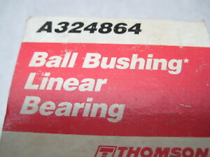 Thomson A324864 Ball Bushing Linear Bearing 2 X 3 X 4 New Condition In Box