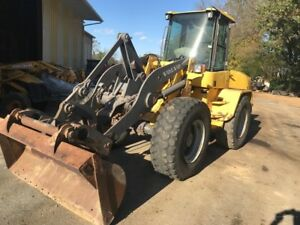 2000 Volvo L40tp 4x4 Compact Wheel Loader Needs Engine Work Coming Soon