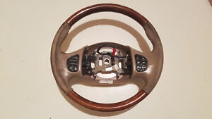 1999 2002 Lincoln Navigator Ford Expedition Steering Wheel Tan