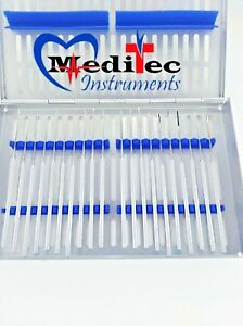 Rhoton Micro Dissector Expanded 20 Pcs Set Of Stainless Steel With Steel Case Mt