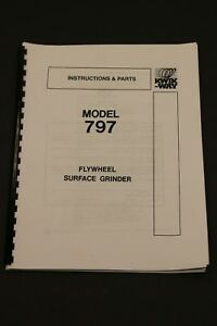 Kwik Way 797 Flywheel Grinder Instruction Manual And Parts List