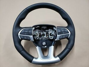 2015 2018 Dodge Challenger Srt8 Black Leather Wrapped Steering Wheel Manual