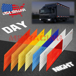 Dot c2 Conspicuity Reflective Tape Strip 1 Foot Safety Warning Trailer Rv