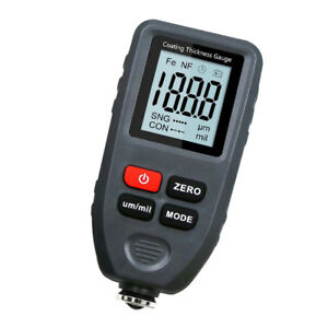 Digital Painting Thickness Meter Car Coating Thickness Gauge Tester Tools