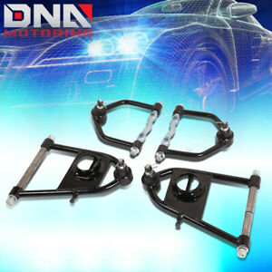 For 1974 1978 Ford Mustang Ii Front Tubular Upper Lower Control Arm Complete Set