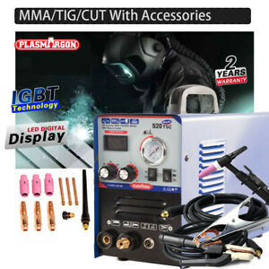 Plasma Cutter Welder Welding Mma tig cut 520tsc Kits Group Sales Foot Pedal