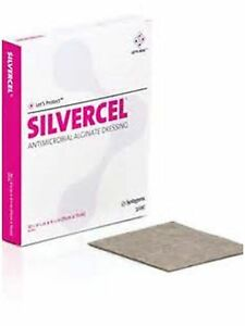 Silvercel Non adherent Antimicrobial Alginate Dressing 4 1 4 X 4 1 4 900404