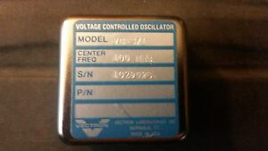 Vectron Voltage Controlled Oscillator 100 Mhz Model Vc 371