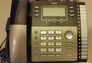 Rca Visys 25424re1 Expandable Business Office 4 line Phone W Power Adapter