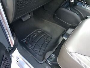 Front Sure fit Floor Mats 2007 2013 Jeep Wrangler Unlimited