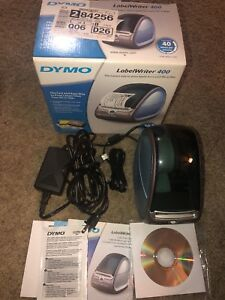 Dymo Labelwriter 400 Label Thermal Printer With Connectivity And Power Cords Euc