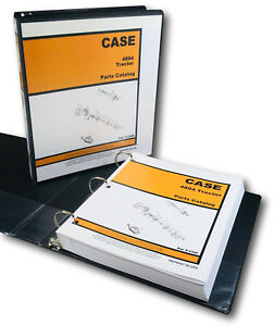 Case 4894 Tractor Parts Manual Catalog Assembly Exploded Views