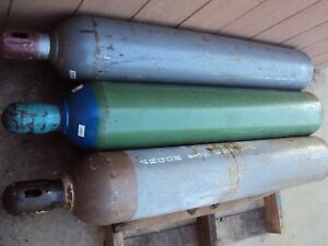 one Argon Welding Cylinder Tank 57 Length Local Pick Up Only