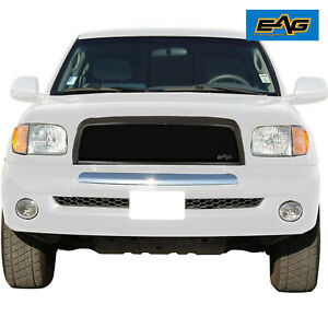 03 06 2003 2006 Toyota Tundra Mesh Grille Steel Pickup Front Upper Matte Black