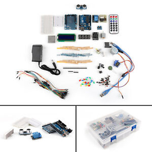 Uno Diy Starter Learning Kit Dedicated Power Supply 9v 1a For Arduino Lcd Us