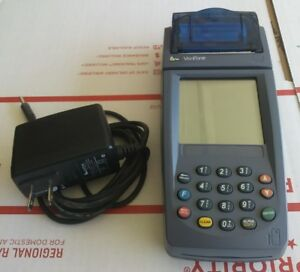 Verifone Nurit Wireless Credit Card Machine 8020 For Parts Or Repair