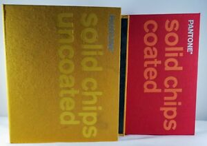 Pantone 2 Book Set Solid Chips Coated Solid Chips Uncoated