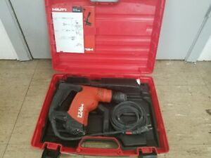 Hilti Te 6 s Corded Rotary Hammer Drill With Case 120v 650w