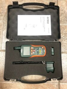 Extech M0295 Pinless Moisture humidity Meter Ir Thermometer