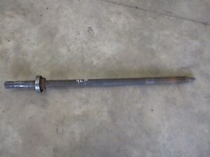 Ih Farmall M Pto Shaft With Bearing Antique Tractor