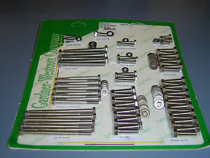 Chevy Gm Ls 1 Ls 6 Engine Bolt Kit Stainless Steel