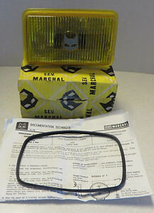 S e v Marchal Fog Light Lenses 1850 200 Gt New In Box Nos Rare