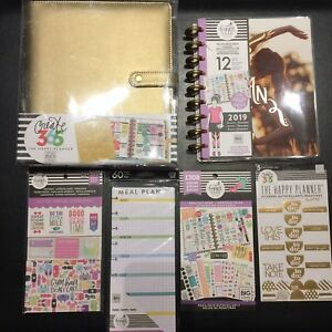 The Happy Planner Girl Healthy Hero Fitness Deluxe Cover Sticky Note Classic Lot