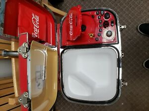 Vintage Coca Cola CoolBox New In Box AM/FM CD Player Powered Cooler