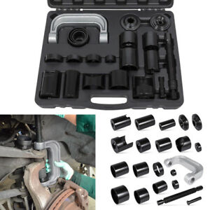 Master Ball Joint Press Service Adapter Set Tool Kit U joint Removal For Ford Gm