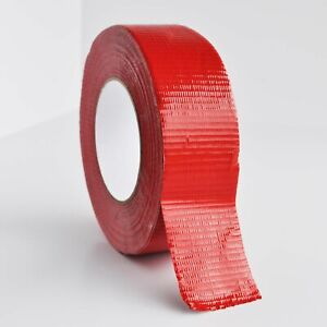 Utility Grade Red Duct Tape 2 X 60 Yards 9 Mil Waterproof Tapes 48 Rolls