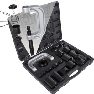 Master Ball Joint Press Service Adapter Set Tool Kit Removal For Ford Jeep Dodge
