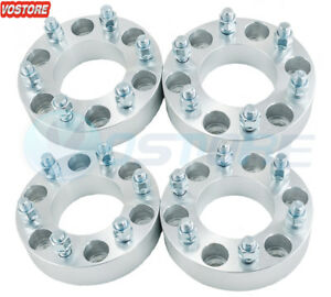 4 1 5 6 Lug Wheel Spacers Adapters 6x5 5 For Toyota 4 runner Chevy Gmc Dodge