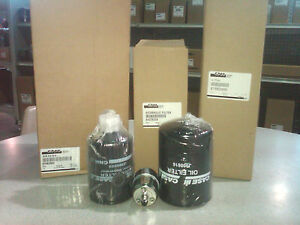 Case 1845c Skid Steer Filter Package Oem New Oil I o Air Fuel