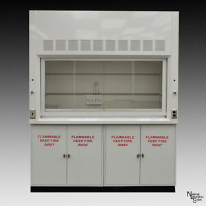 6 New Laboratory Chemical Fume Hood Flammable Cabinets Lab Ind Quick Ship