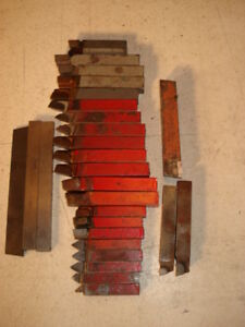 Machinist Lathe Cutting Bits Armstrong Armide Cabology 28 Total Pieces