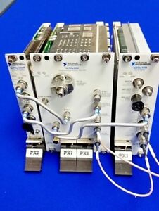 National Instruments Ni Pxie 5668r 26 5 Ghz Pxi Vector Signal Analyzer Plug ins