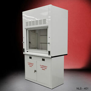 4 Fisher American Lab Chemical Fume Hood Flammable Cabinet Fast Shipping