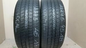 No Shipping Only Local 2 Tires 245 45 18 Goodyear Eagle Rs A 60 70 Tread