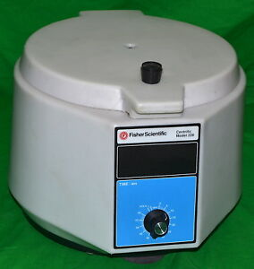 Fisher Scientific Centrifuge used Power On Tested Model 228